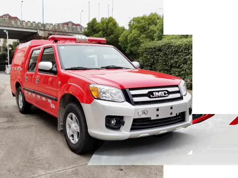 JMV5026GXFPW0.4型水雾消防车皮卡消防车